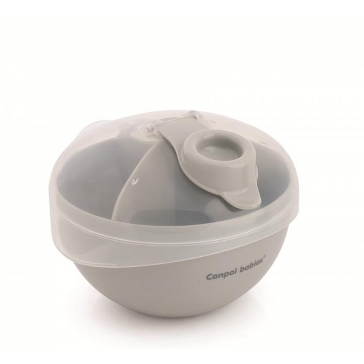 Pojemnik na mleko w proszku Grey | Canpol