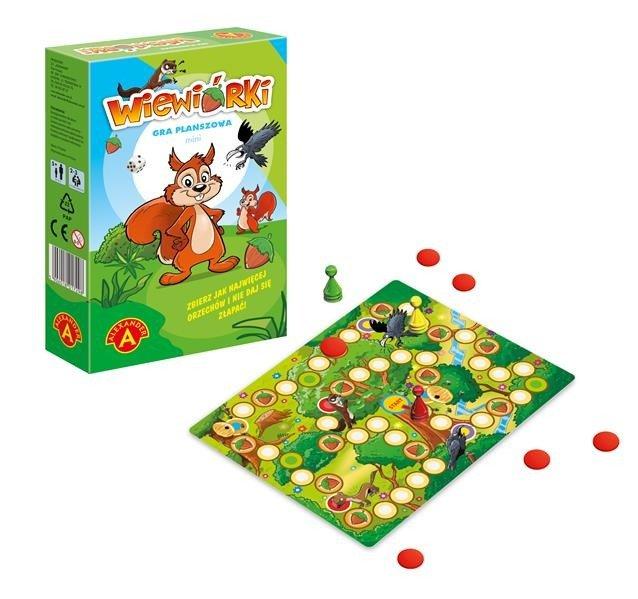 Gra planszowa podróżna Wiewiórki | Aleksander
