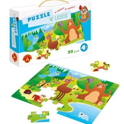 Puzzle W lesie 25el   Aleksnader