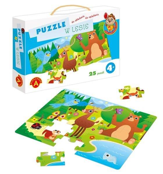 Puzzle W lesie 25el | Aleksnader