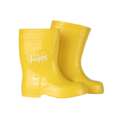 Kalosze Colorfull Happy - żółty | KaloszePoprosze
