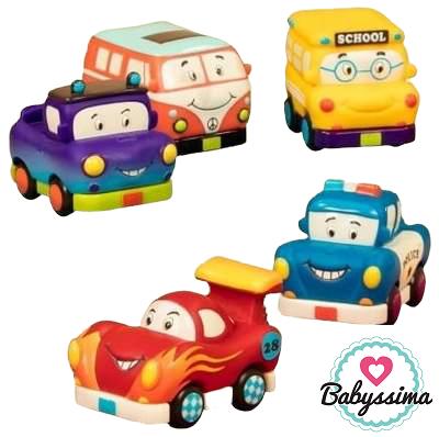 Autko z napędem Mini Wheeee-ls! - 5 wzorów | B.Toys