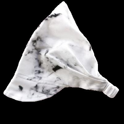 Chustka z daszkiem na gumce Marble | Kimo