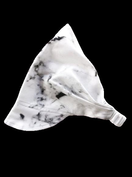 Chustka z daszkiem na gumce Marble   Kimo