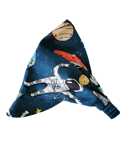 Chustka z daszkiem na gumce Space   Kimo