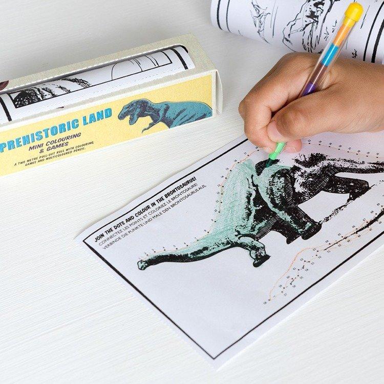Kolorowanka w rolce, Dinozaury | Rex London