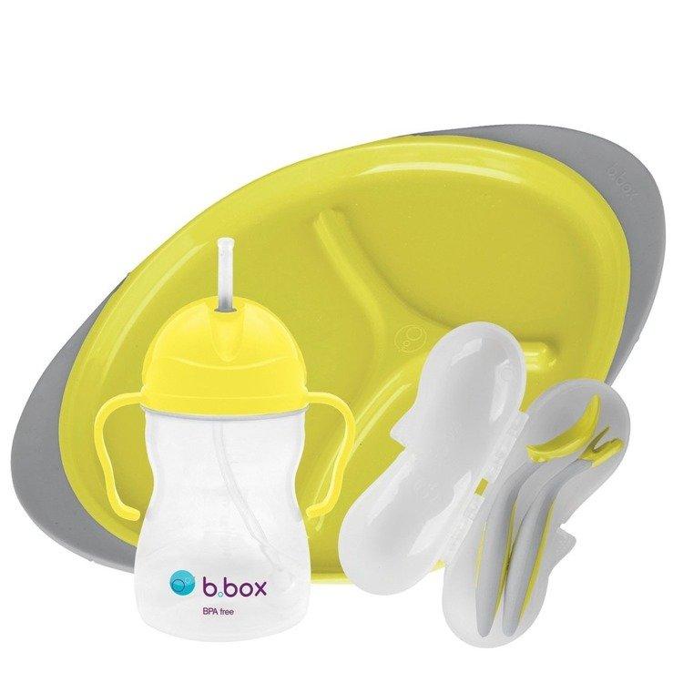 Zestaw do karmienia, Lemon Sherbet | B.Box