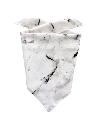 Chustka trójkątna Marble   KIMO