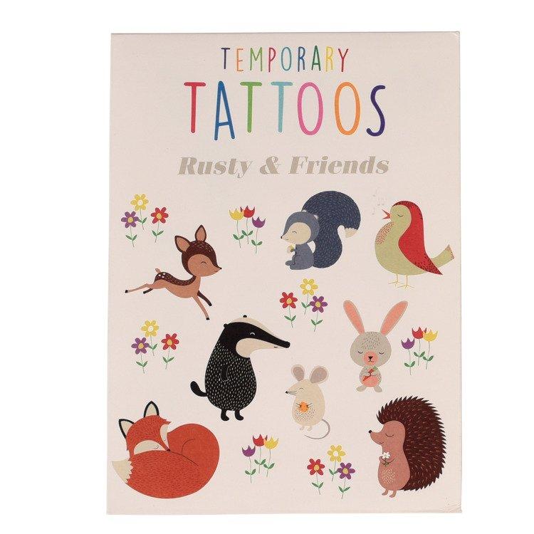 Tatuaże zmywalne Przyjaciele   Rex London