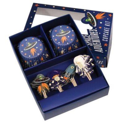 Zestaw imprezowy do babeczek, Kosmos   Rex London