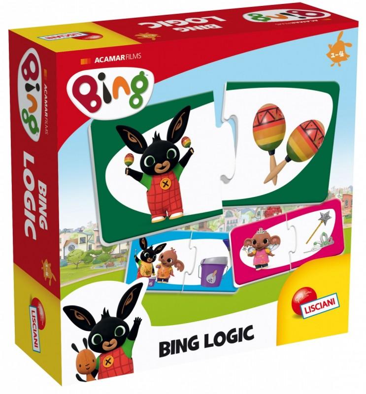 Bing puzzle logiczne 2el | Lisciani