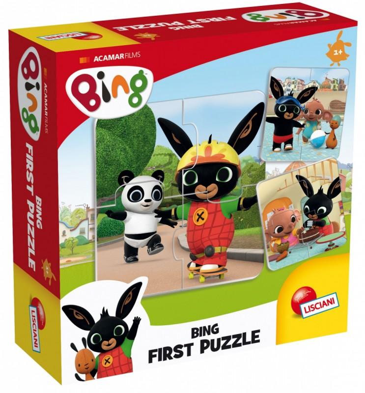 Bing pierwsze puzzle 4el | Lisciani