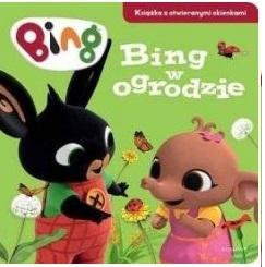 Bing w ogrodzie. Książka z otwieranymi okienkami