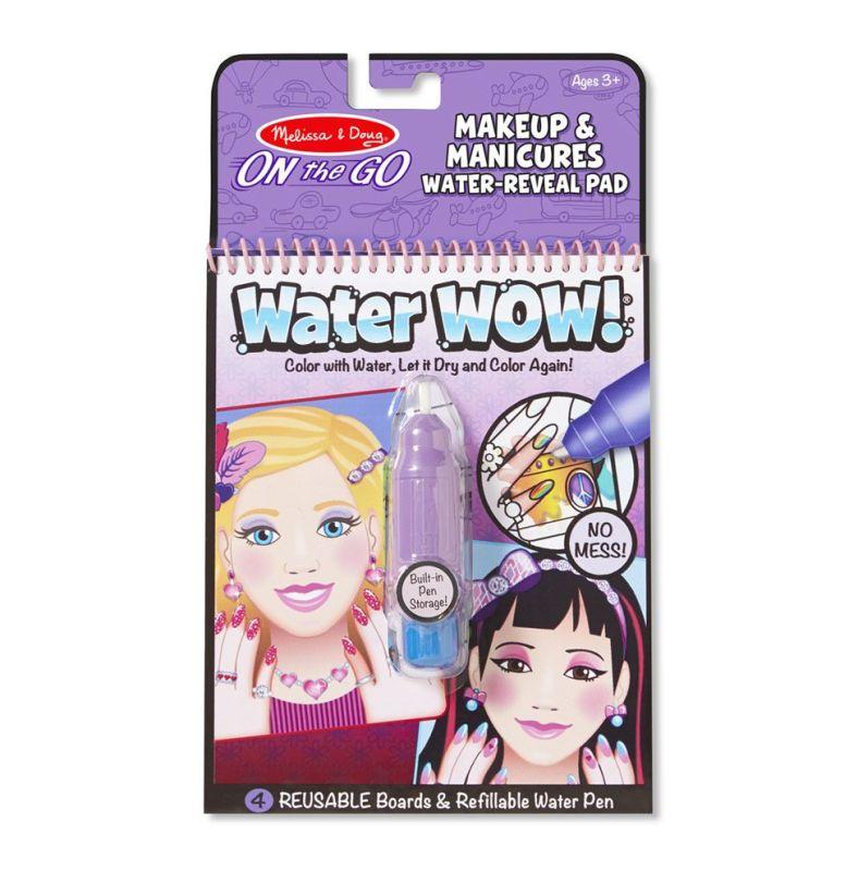 Kolorowanka wodna wielokrotnego użytku Makijaż i Manicure   Melissa&Doug
