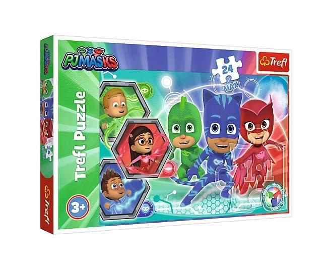 Puzzle Maxi Pijamers Transformacja 24el | Trefl