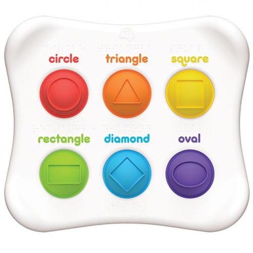 Bąbelki Dimpl-Duo Kształty i kolory – sensoryczna zabawka | Fat Brain Toys