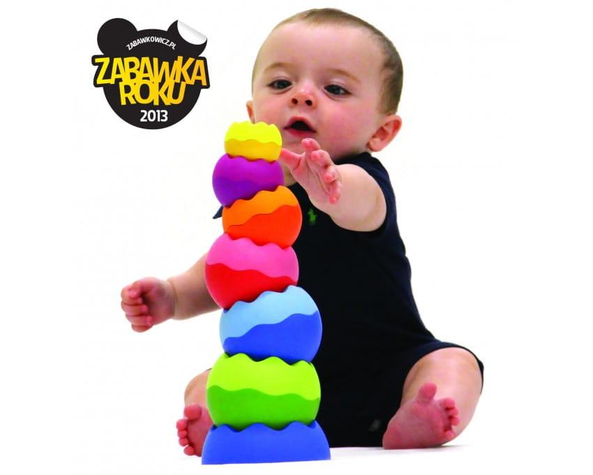Tobbles Neo Wieża dla malucha   Fat Brain Toys