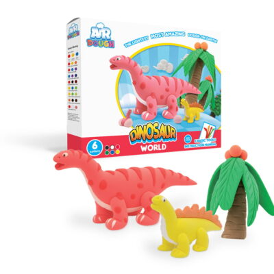 Lekka Jak Powietrze Ciastolina - Dinozaury | Scentco