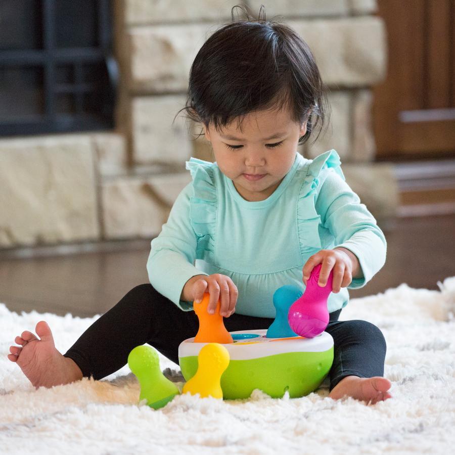 Sorter Kolorowe Wańki Wstańki , Spinny Pins | Fat Brain Toys