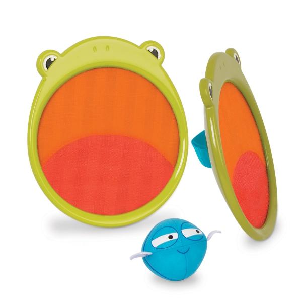 Gra zręcznościowa Critter Catchers, Frankie the Frog   B.Toys