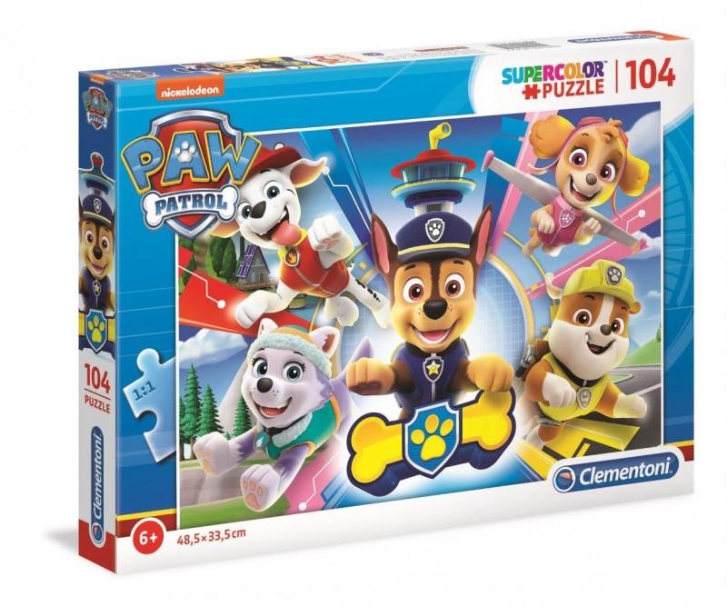 Puzzle 104 elemety Psi Patrol | Clementoni