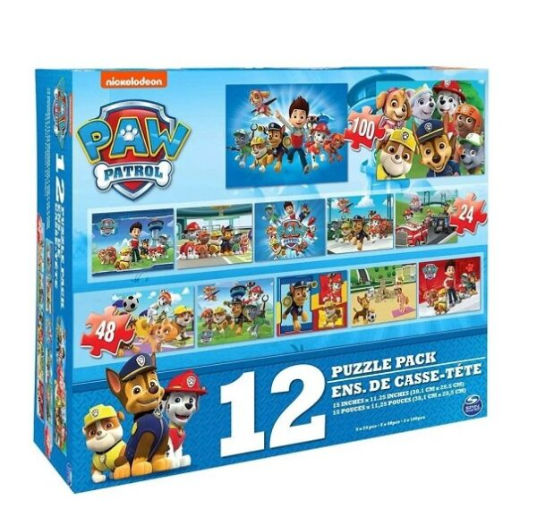 Puzzle Psi Patrol 12w1 DELUXE | SpinMaster