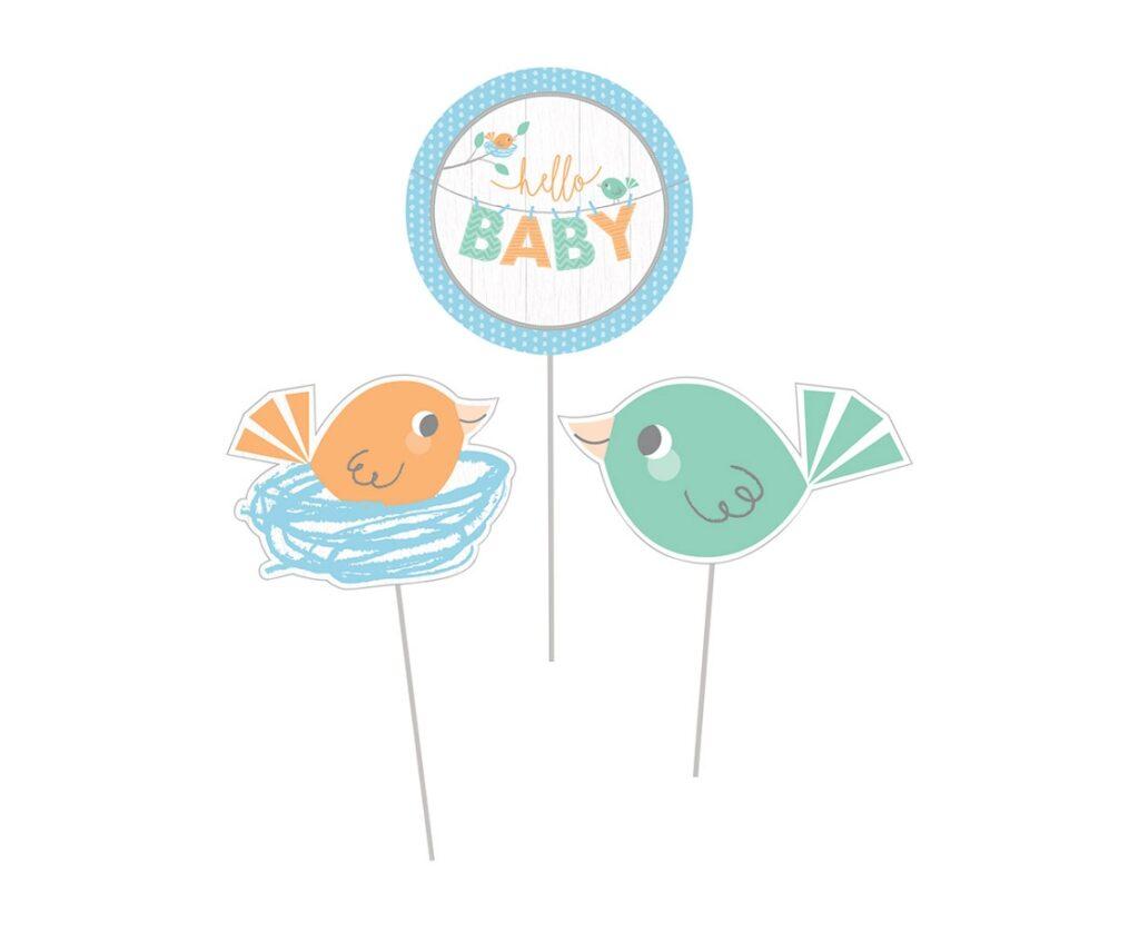 Topery BABY BOY - ptaszki
