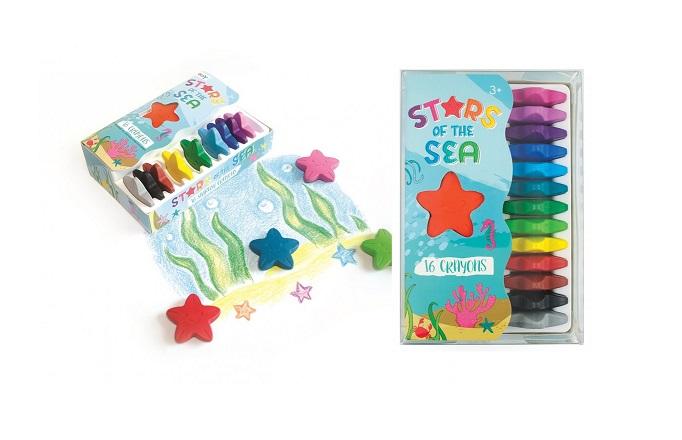 Pierwsze kredki dziecka - Gwiazdki oceanu | Ooly