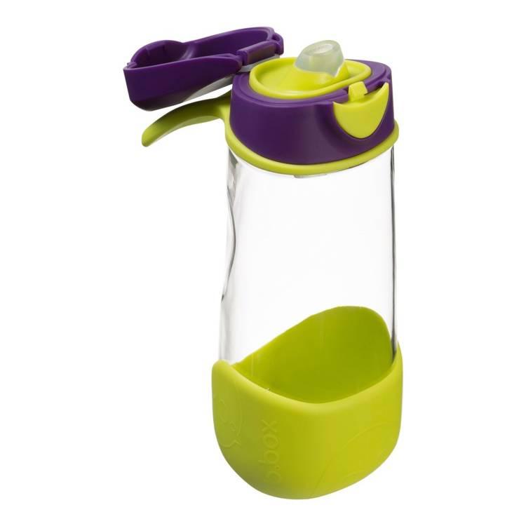 Sportowa butelka tritanowa 450 ml, Passion Splash | B.Box
