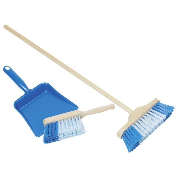 Zestaw do sprzątania Niebieski | Goki