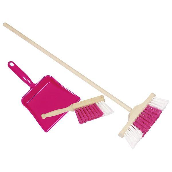 Zestaw do sprzątania Różowy | Goki
