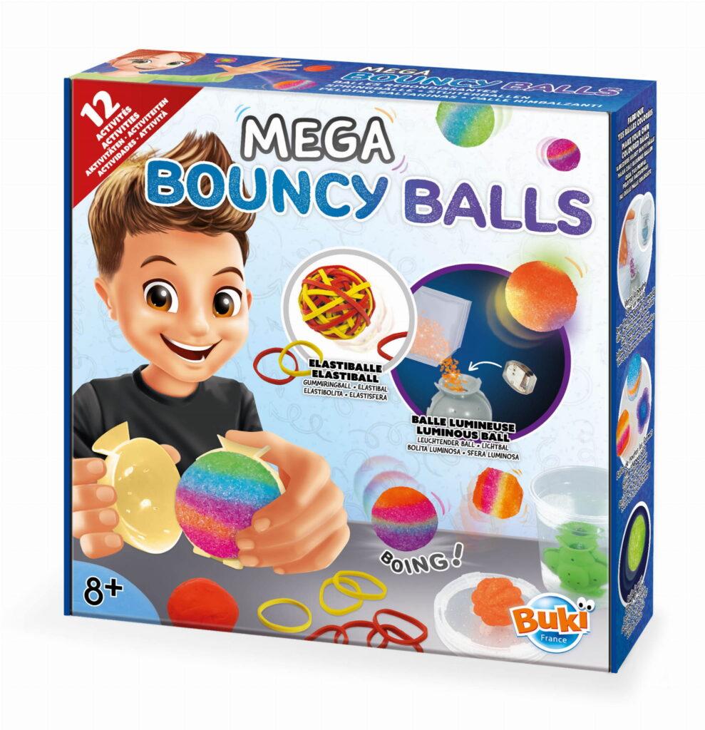 Mega podskakujące piłki - zrób to sam | Buki