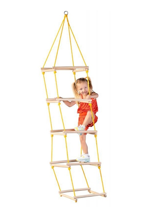 Drabinka sznurkowa - wieża do wspinania | Woody