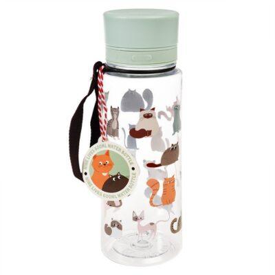 Butelka na wodę 600 ml, Koty | Rex London