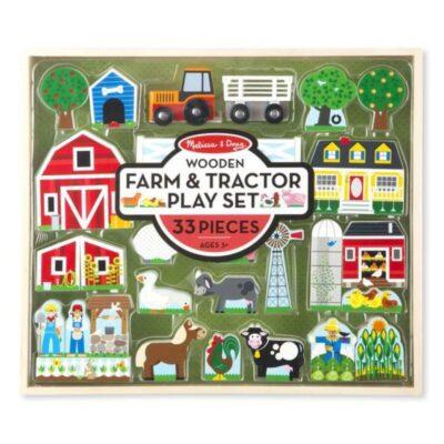 Drewniane klocki Farma do zabawy | Melissa&Doug