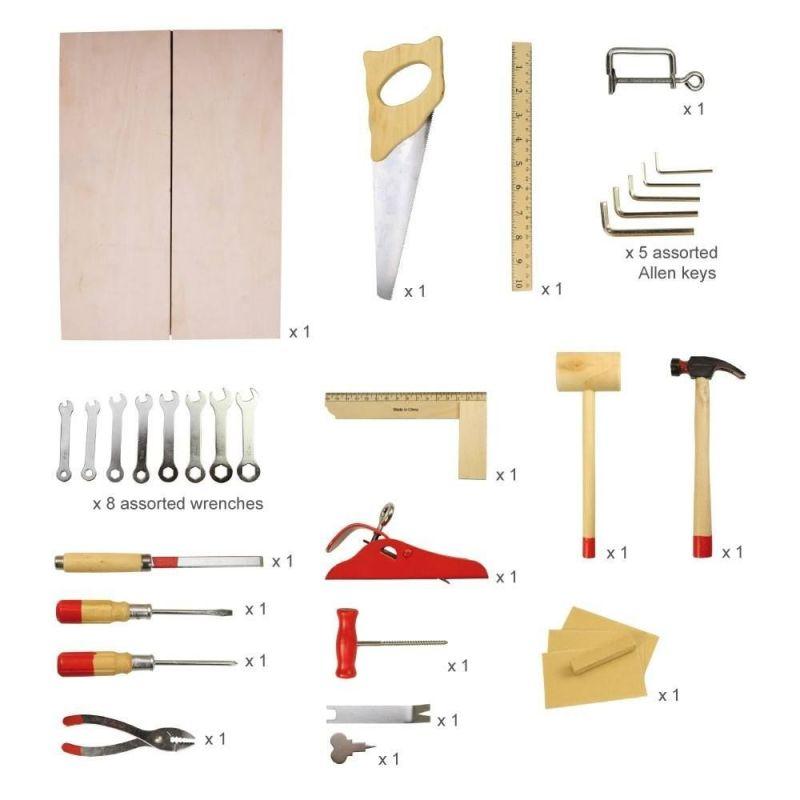 Zestaw narzędzi półprofesjonalnych w walizce | BigJigs