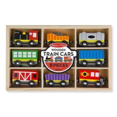 Drewniany pociąg z wagonikami w skrzynce | Melissa&Doug