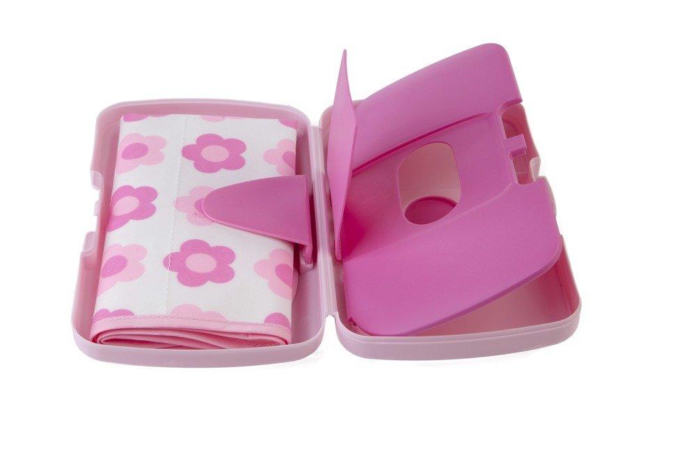Przewijak w etui z miejscem na pieluchy i chusteczki, Flower Power | B.Box