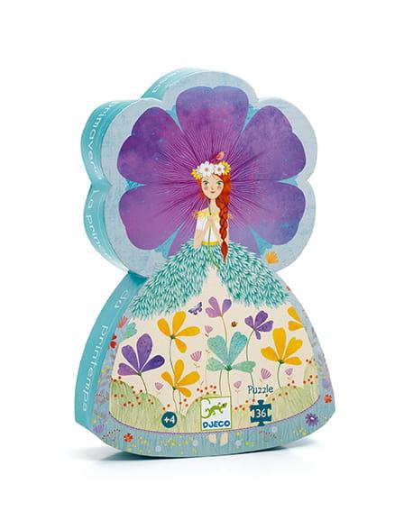 Puzzle Księżniczka wiosna 24el | Djeco