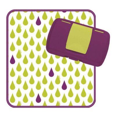 Przewijak w etui z miejscem na pieluchy i chusteczki, Splish Splash | B.Box