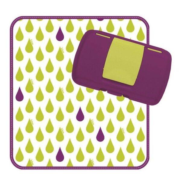 Przewijak w etui z miejscem na pieluchy i chusteczki, Splish Splash   B.Box