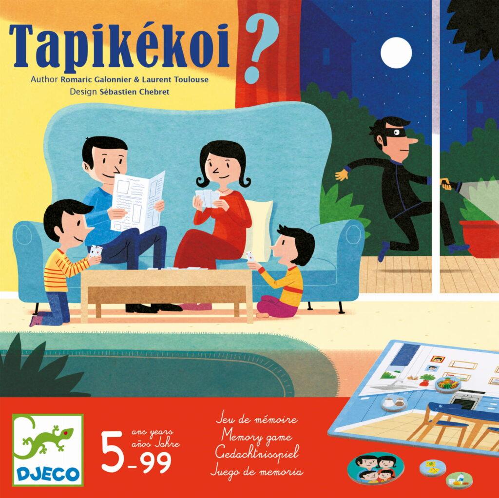 Gra pamięciowa Tapikekoi   Djeco