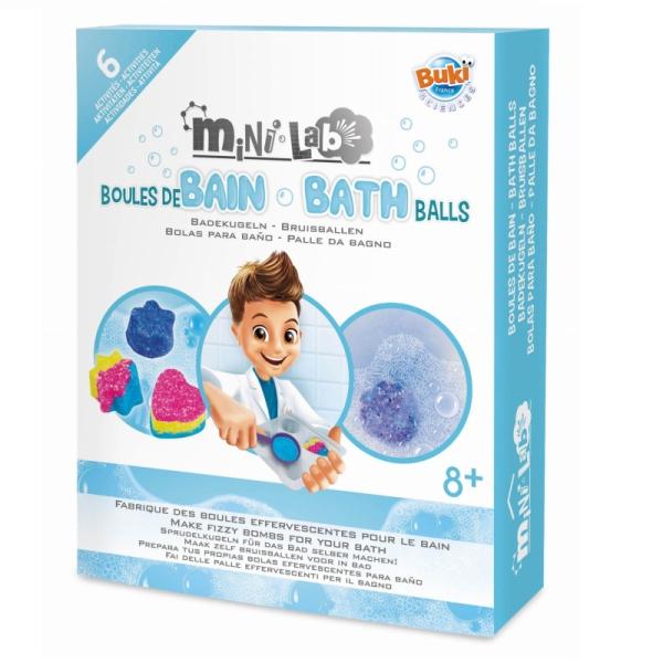Mini Laboratorium - musujące kule do kąpieli | Buki