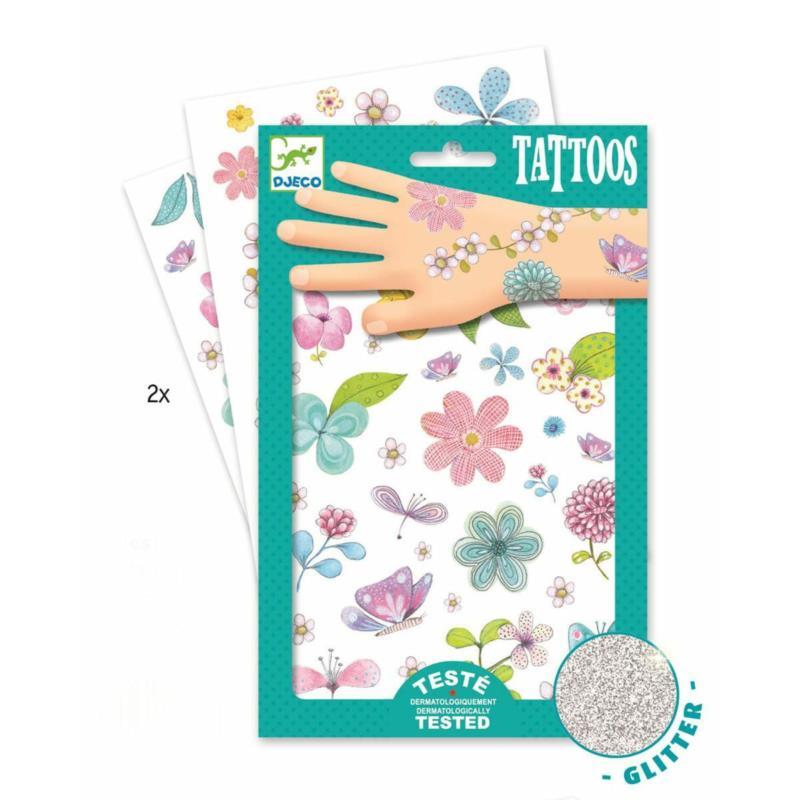 Tatuaże KWIATY   Djeco