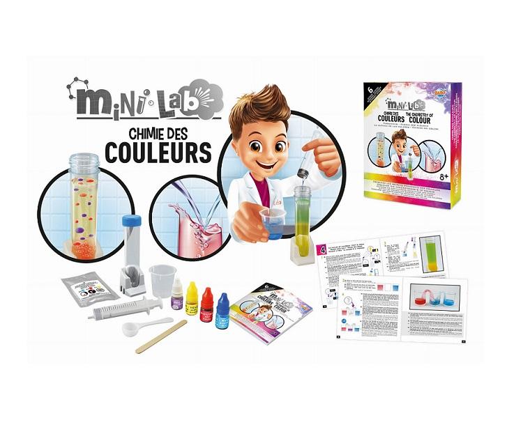 Mini lab Chemia kolorów | Buki