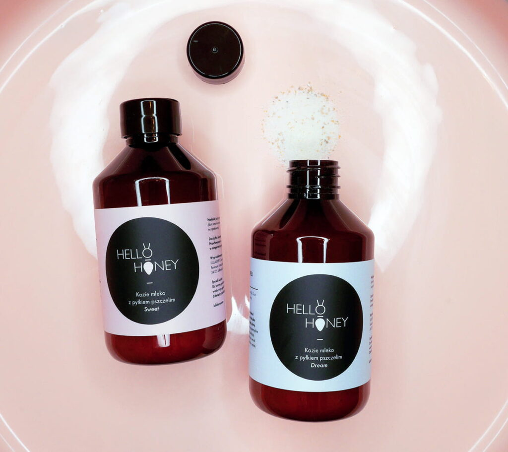 Mleko do kąpieli - zapach Sweet | Lullalove