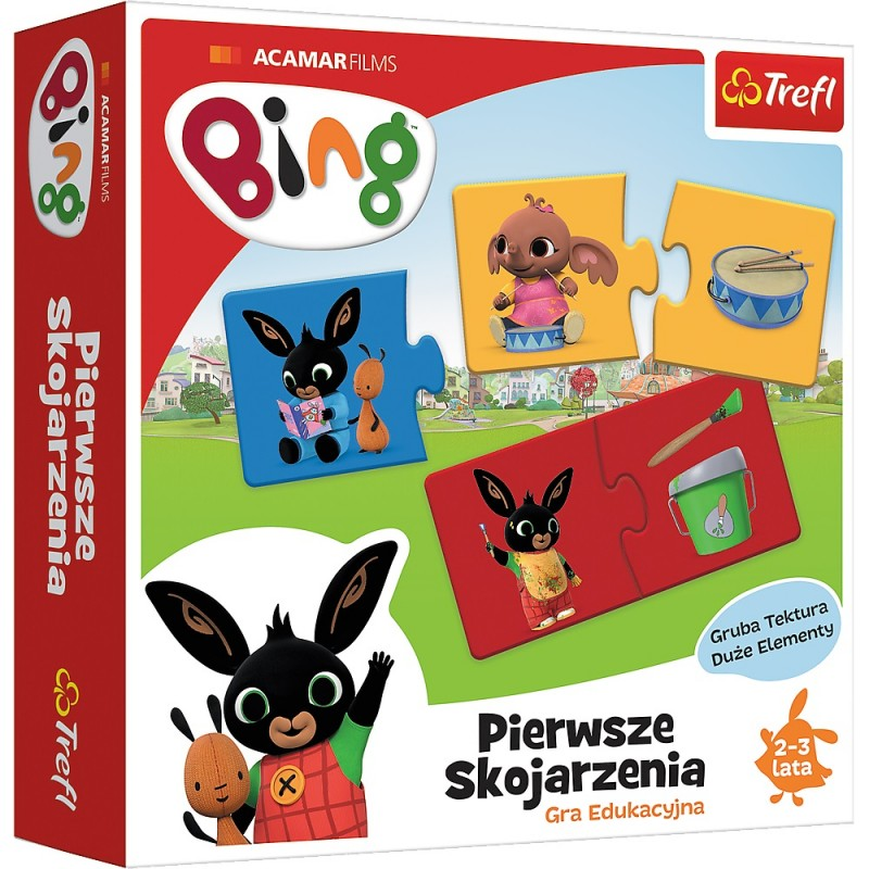 Puzzle Bing Pierwsze skojarzenia 2el | Lisciani