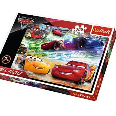 Puzzle 200el Cars 3 | Trefl