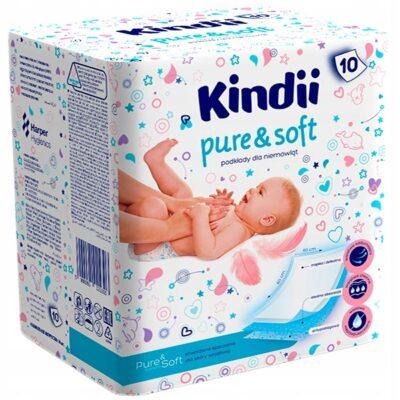 Podkłady do przewijania dla niemowląt 4szt   Kiddy