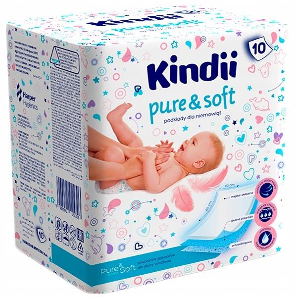 Podkłady do przewijania dla niemowląt 4szt | Kiddy